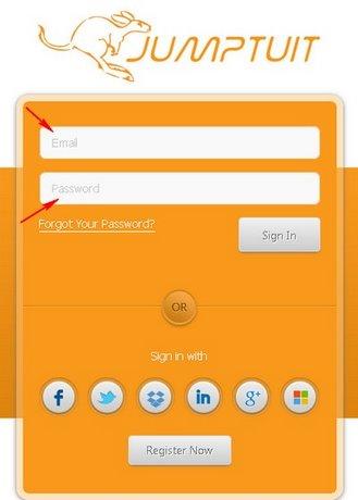 Quản lý mạng xã hội và dịch vụ lưu trữ đám mây với Jumptuit