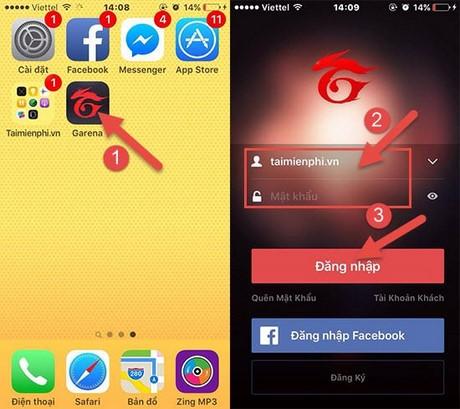 Quay gas Chiến Dịch Huyền Thoại trên iPhone, Android 1