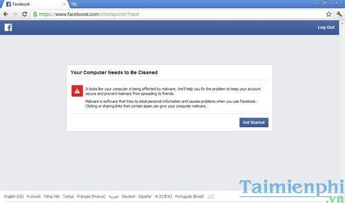 quet virus tren facebook