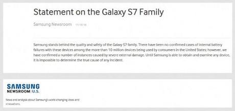 samsung galaxy s7 no