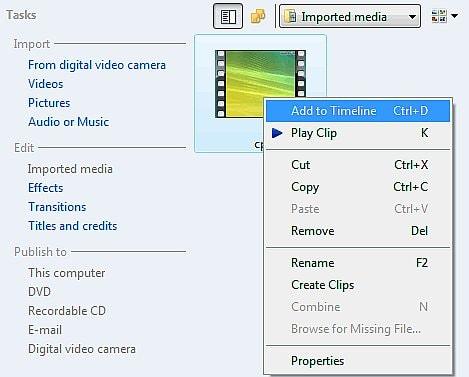 sua video windows movie maker