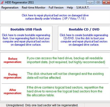 Tải phần mềm HDD Regenerator Full bản quyền mới nhất 2020 1