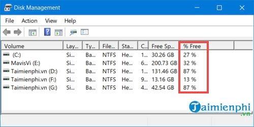Sửa lỗi không extend volume được ổ C Win 10 1