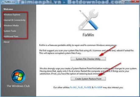 Sửa lỗi Win 7, những phần mềm sửa lỗi Windows tốt nhất 1
