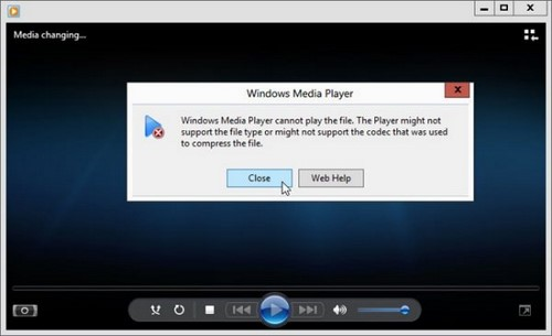 sua loi windows media player khong xem video