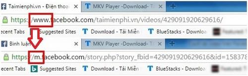 download video facebook ve may tinh