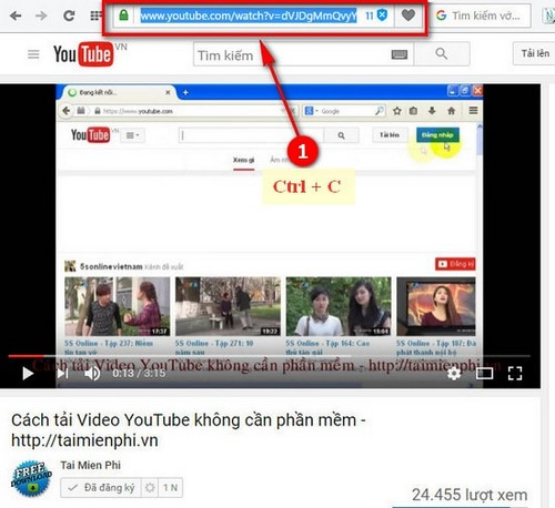 download video nhac youtube bang youtubeconverter