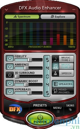 Hướng dẫn Tăng âm lượng loa bằng DFX Audio Enhancer, kích volume loa máy tính 2