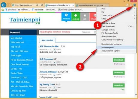 Tạo cảnh báo đóng nhiều tab trên Internet Explorer