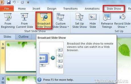 tai powerpoint 2010