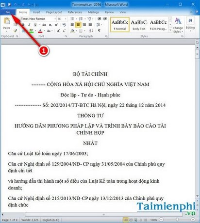 tao mat khau file pdf bang word