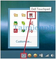 tat touchpad laptop dell