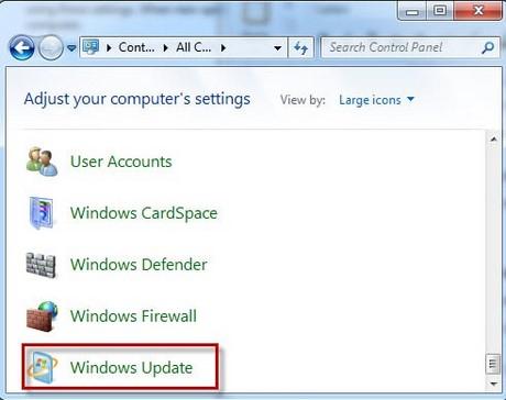 Tắt update Windows 7, cách chặn Win 7 không tự động cập nhật 1