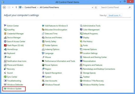 tat update windows 8