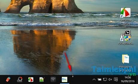 Thay đổi kích thước thanh Taskbar trên Windows 10 2