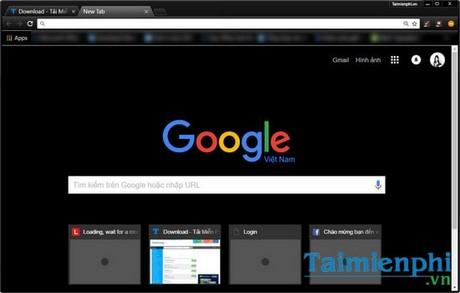 Thêm chế độ Night/Dark cho Google Chrome, Cốc Cốc và Firefox giúp đỡ mỏi mắt