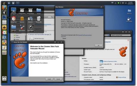 giao dien ubuntu for windows 7