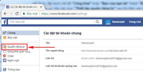 thiet lap rieng tu bai dang tren facebook gioi han nguoi xem bai da dang 2