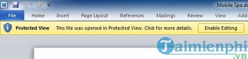 tim hieu ve protected view va trust center trong microsoft office 2