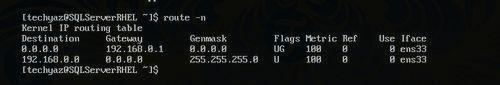 tim va doi ip subnet mask va default gateway tren linux 2