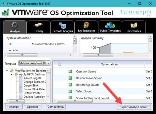 toi uu hoa windows 10 bang vmware os optimization tool 2