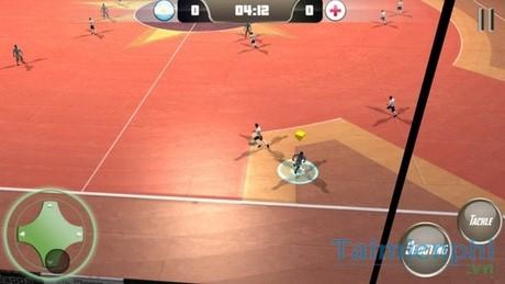 game futsal tren dien thoai
