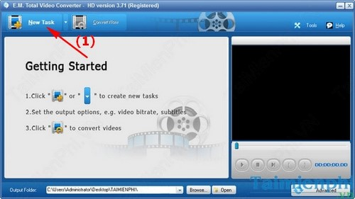 convert audio to wav with Total Video Converter