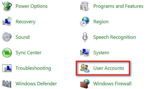 tat user account control