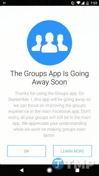 ung dung facebook groups se ngung hoat dong vao ngay 1 9 2