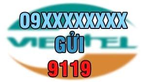 ung tien viettel 9119 2