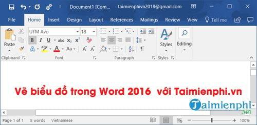 ve bieu do trong word 2016 moi nhat 2