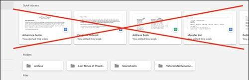 vo hieu hoa phim tat quick access tren google drive 2