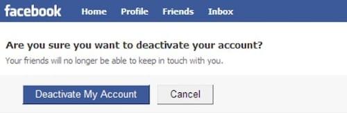 xoa tai khoan facebook tren dien thoai