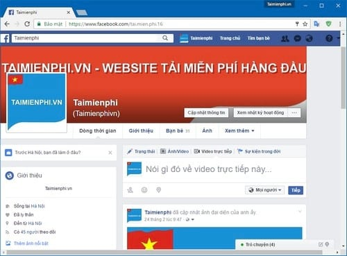cach phat live stream video facebook tren may tinh khong can cai them obs 2