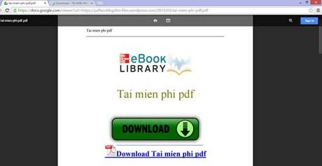 doc file pdf truc tuyen, xem file pdf voi docs.google.com