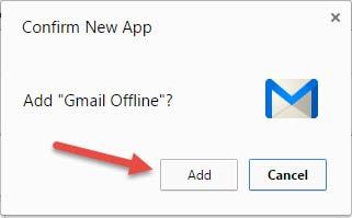 xem gmail offline