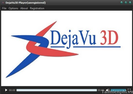 xem phim 3d tren may tinh voi DejaVu3D Player