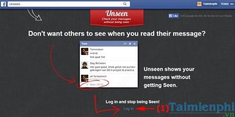 Cách tắt chế độ đã xem trên Messenger Facebook, xóa chữ