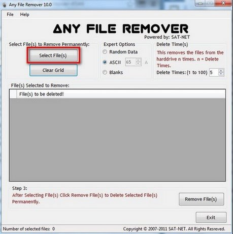 Any File Remover