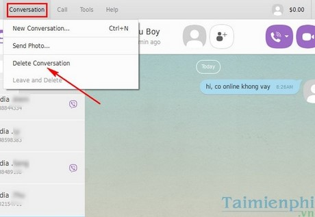 how to delete viber from my pc