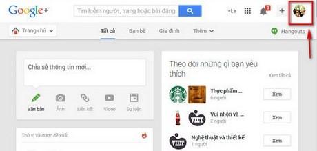 Hướng dẫn xóa Google+