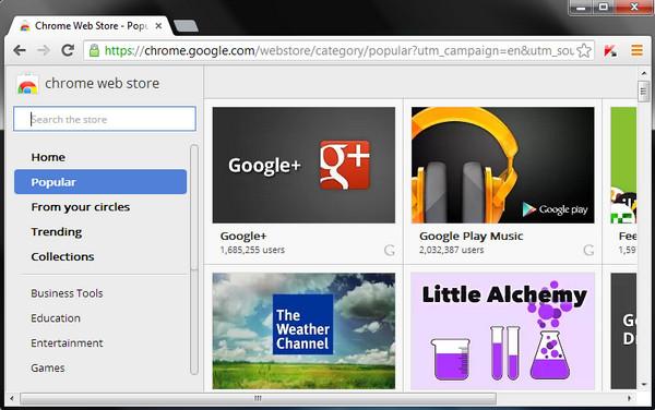 Google Chrome 30 cập nhập thêm những tính năng mới thú vị