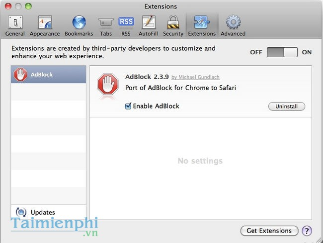 Safari AdBlocker for Mac
