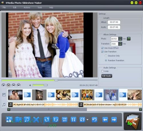 4Media Photo Slideshow Maker for Mac