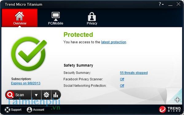 download Trend Micro Titanium Antivirus +