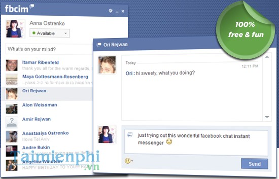 download Facebook Chat