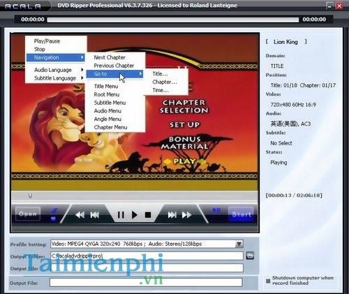 Acala DVD Ripper Professional