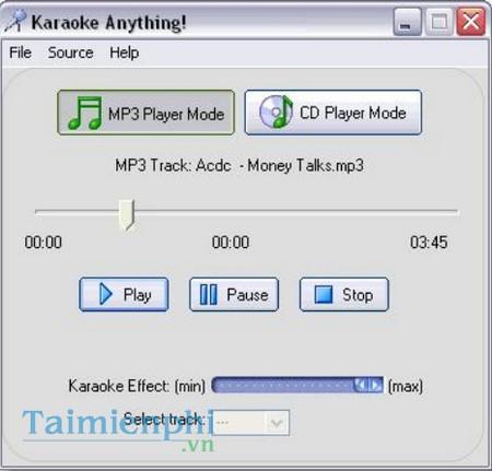 Karaoke Anything