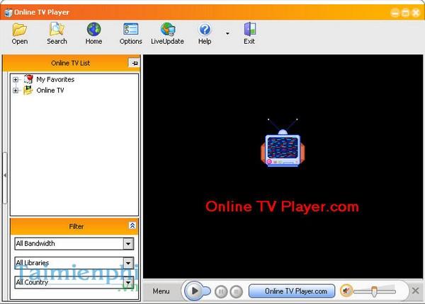 Online TV Player