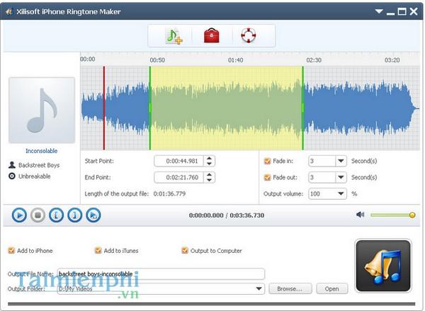 download Xilisoft iPhone Ringtone Maker